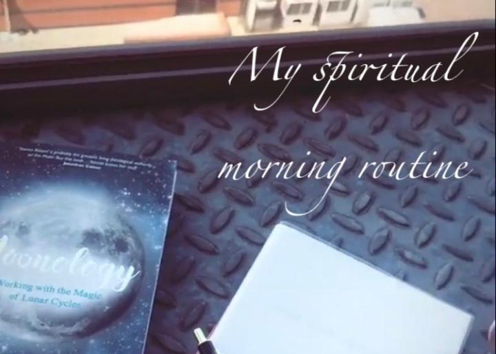 Spiritual morning routine